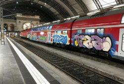 Schlag gegen Graffiti-Bande in Dresden © Bundespolizei