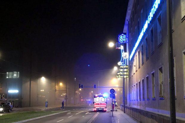 Vor Ort sein, wenn an der Pragerstraße Gasflaschen explodieren und eine Baustelle brennt. Foto: Michael Freitag