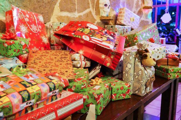 Geschenke für die Leipziger Kinderstiftung. Quelle: SC DHfK