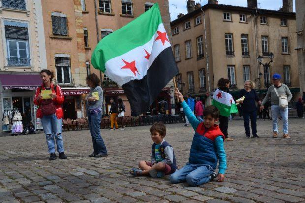 Zivilisten sind im syrischen Krieg am meisten bedroht. © Jeanne Menjoulet