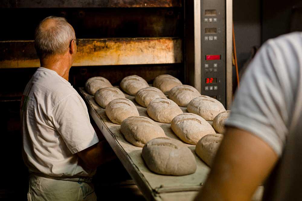 Harte Arbeit in einer Bäckerei. Foto: NGG