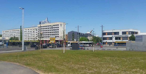 Blick zum Bayrischen Platz. Foto: Marko Hofmann