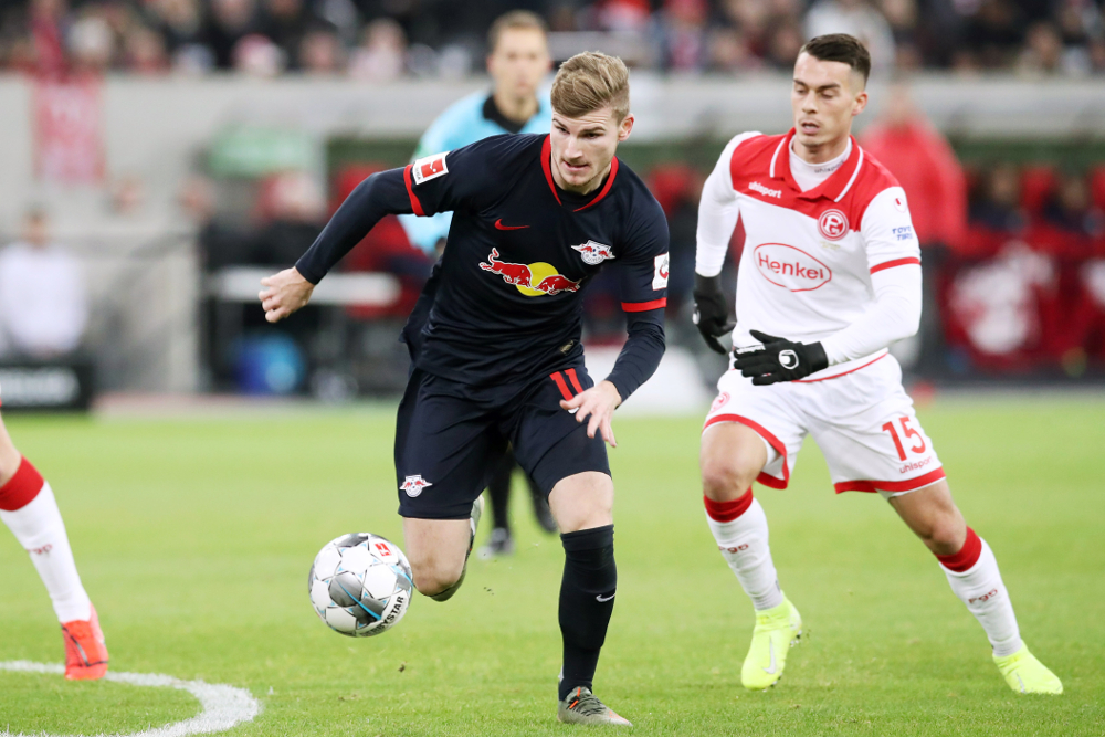 Werner erzielte in der 58. Minute das 2:0 für RBL. Foto: Gepa Pictures