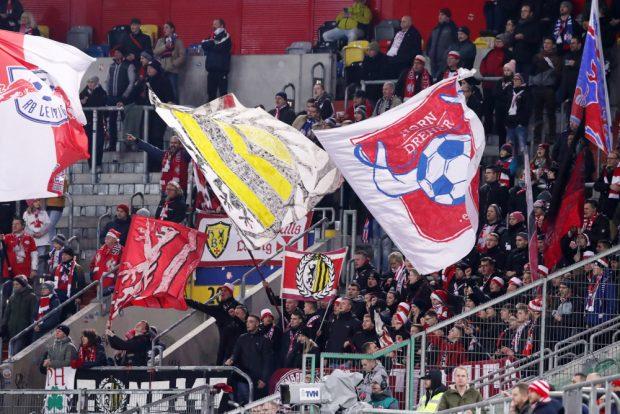 RBL-Fans in Düsseldorf. Foto: Gepa Pictures