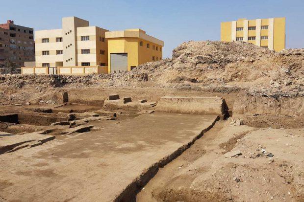 Das Grabungsgebiet in Kairo. Foto: Universität Leipzig
