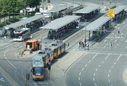 Haltestelle Hauptbahnhof. Foto: Ralf Julke