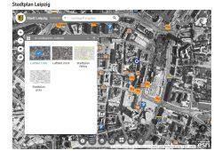 Das Luftbild von 1990 im Themenstadtplan der Stadt Leipzig. Screenshot: L-IZ
