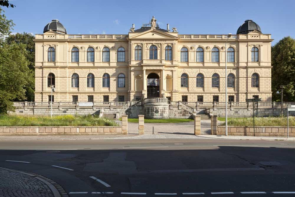 Das Stammhaus des Lindenau-Museums in Altenburg. Foto: J. M. Pietsch