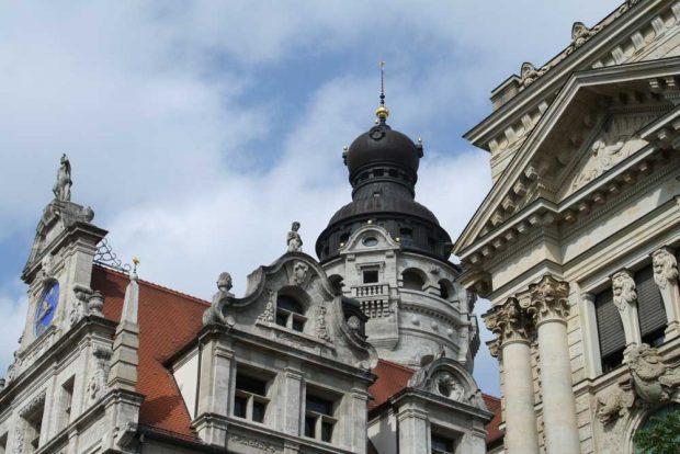 OBM-Amtssitz Neues Rathaus. Foto: Ralf Julke