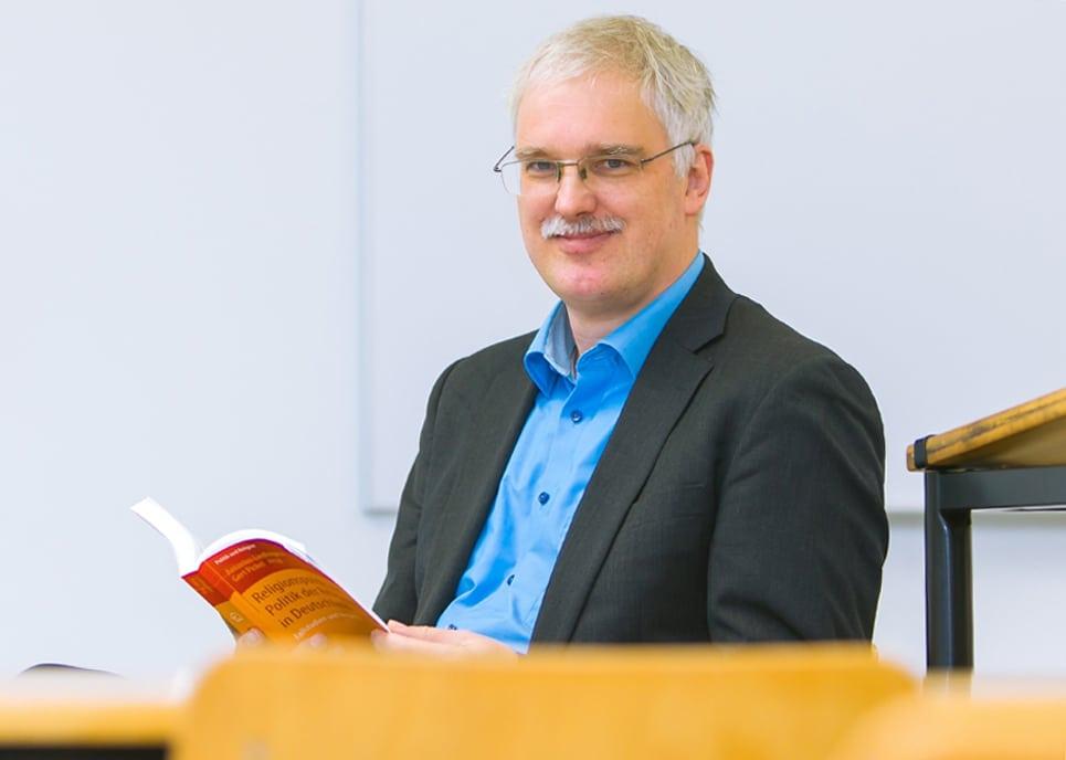 Prof. Dr. Gert Pickel, Foto: Universität Leipzig/Swen Reichhold