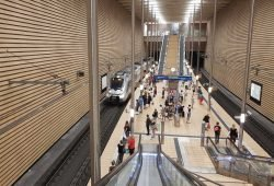 S-Bahn-Station Leipzig-Markt. Foto: Marko Hofmann