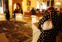 Das Stadtmodell in der Ausstellung des Stadtgeschichtlichen Museums. Foto: Ralf Julke