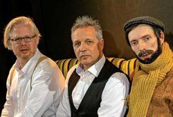 Claudius Bruns, Armin Zarbock, August Geyler. Foto: Maria Notacker