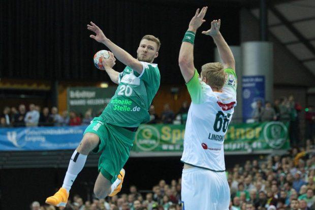 Mit 9 Toren war Philipp Weber mit Abstand der erfolgreichste Werfer der Partie. Foto: Jan Kaefer