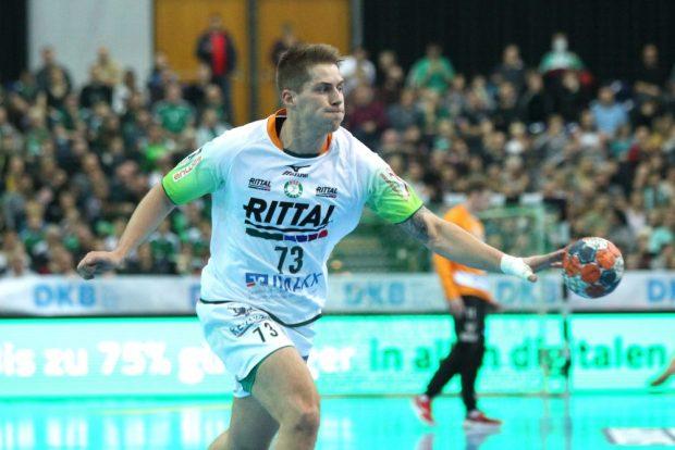 Viggo Kristjansson war in der laufenden Saison von Leipzig nach Wetzlar gewechselt. Foto: Jan Kaefer