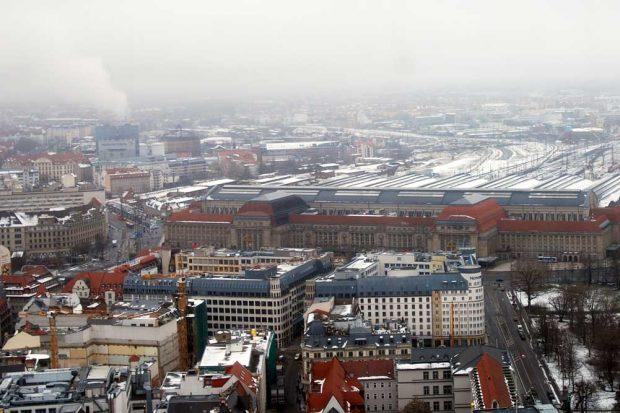Winterliches Leipzig. Archivfoto: Michael Freitag