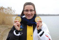 Weltrekord und zweimal WM-Gold - die Bilanz von Alisa Fatum kann sich sehen lassen. Foto: Jan Kaefer