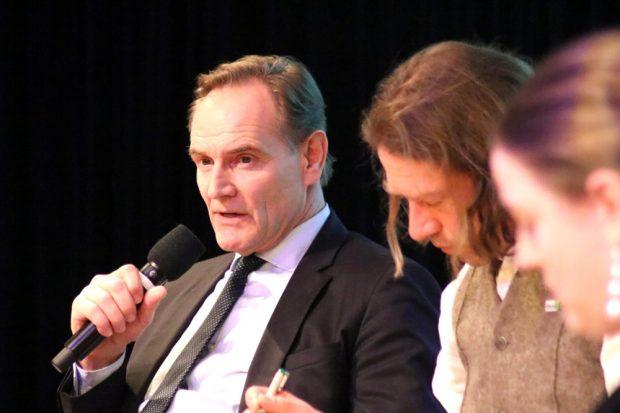 Burkhard Jung angrifslustig auch in Richtung AfD beim Thema Umweltschutz. Foto L-IZ.de