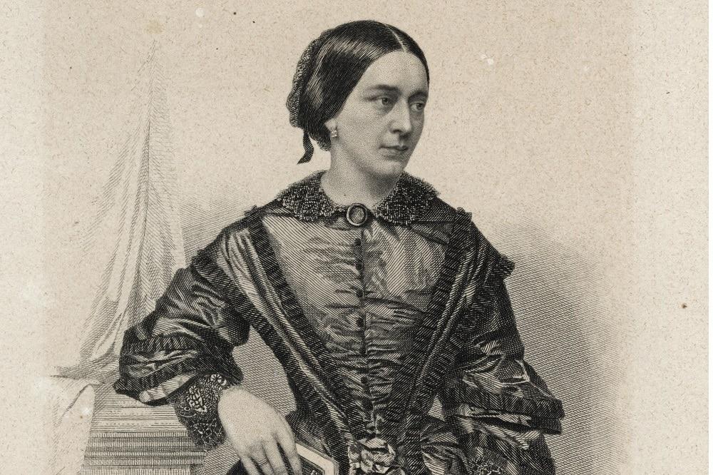 Clara Schumann. Foto: Stadtgeschichtliches Museum Leipzig