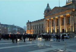 17:04 Uhr vorm Bundesverwaltungsgericht. Foto: L-IZ.de
