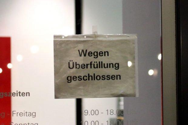 Das Interesse groß, der Platz zu gering. Foto: L-IZ.de