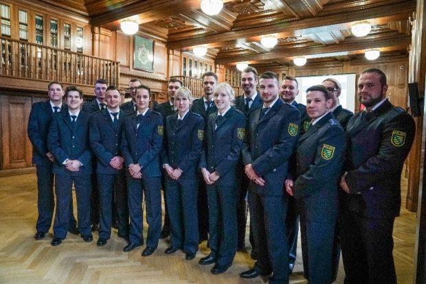 Ehrung und Ernennung sächsischer Polizeisportler in Dresden © Polizei Sachsen