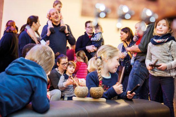 Familienwinterfest im Grassimuseum. Foto: Tom Dachs