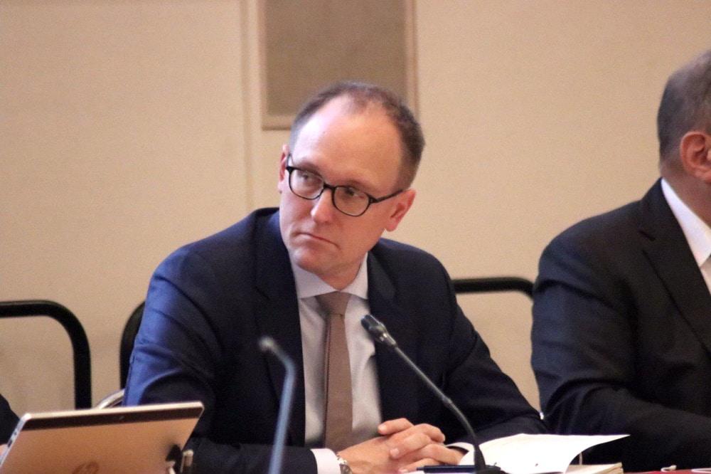 Verwaltungsbürgermeister Ulrich Hörning (SPD). Foto: LZ