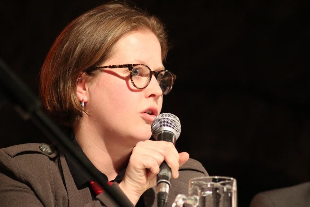 Katharina Subat (Die PARTEI). Foto: L-IZ.de