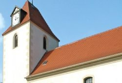 Kirche Tellschütz. Foto: Ekkehard Schönherr