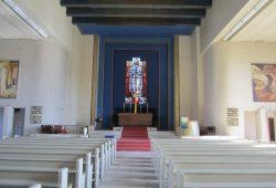 Kirchenraum innen. Foto: Kirchgemeinde