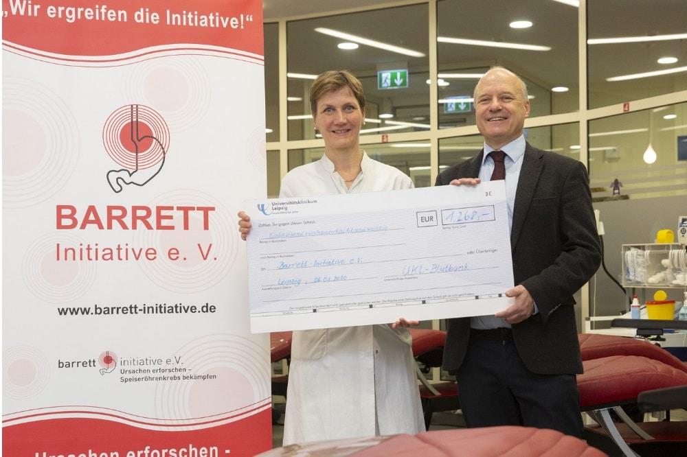 Freuen sich über den Erfolg der Aktion: Prof. Ines Gockel, Vorsitzende des Vereins