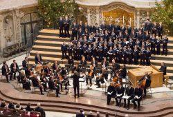 Auftritt THOMANERCHOR Leipzig in der Kreuzkirche Dresden 2018. Foto: Roman Friedrich