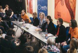 OBM-Kandidatinnen-Runde des ADFC. Foto: Anne-Katrin Hutschenreuter