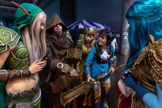 In die Rolle der Spielfiguren schlüpfen: Cosplay. Foto: Leipziger Messe GmbH / Tom Schulze