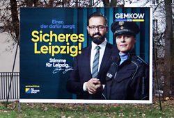 Versucht mit Sicherheit Wahlkampf zu machen: Sebastian Gemkow. Foto: Ralf Julke