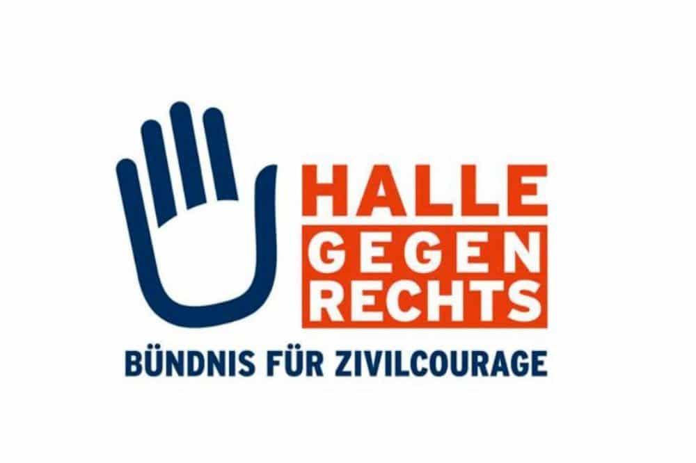 Logo Halle gegen Rechts