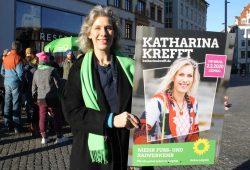 OBM-Kandidatin der Grünen: Katharina Krefft. Foto: Ralf Julke