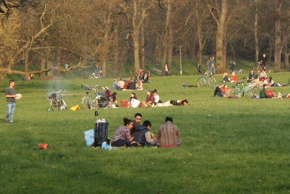 Was soll in Leipziger Parks künftig verboten sein? Foto: Ralf Julke