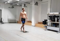 Im neuen Labor des Instituts für Allgemeine Bewegungs- und Trainingswissenschaft werden Bewegungen mit Hightech analysiert. Foto: Annika Schindelarz/ Universität Leipzig