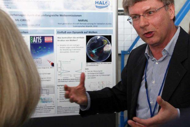 """Prof. Dr. Manfred Wendisch ist Sprecher des Sonderforschungsbereichs """"Arktische Klimaänderung (AC)³"""". Foto: Universität Leipzig/Carsten Heckmann"""
