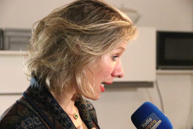 Die Grünen-Stadträtin Katharina Krefft steigt aus dem OBM-Wahlkampf zugunsten von Burkhard Jung nach einem Mitgliederbeschluss aus. Foto: L-IZ.de