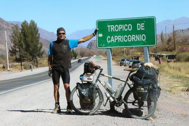 Am Tropic of Capricorn (Argentinien). Quelle: Thomas Meixner