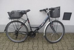 Gestohlenes Fahrrad - Polizei sucht Eigentümer. Quelle: Polizeidirektion Leipzig