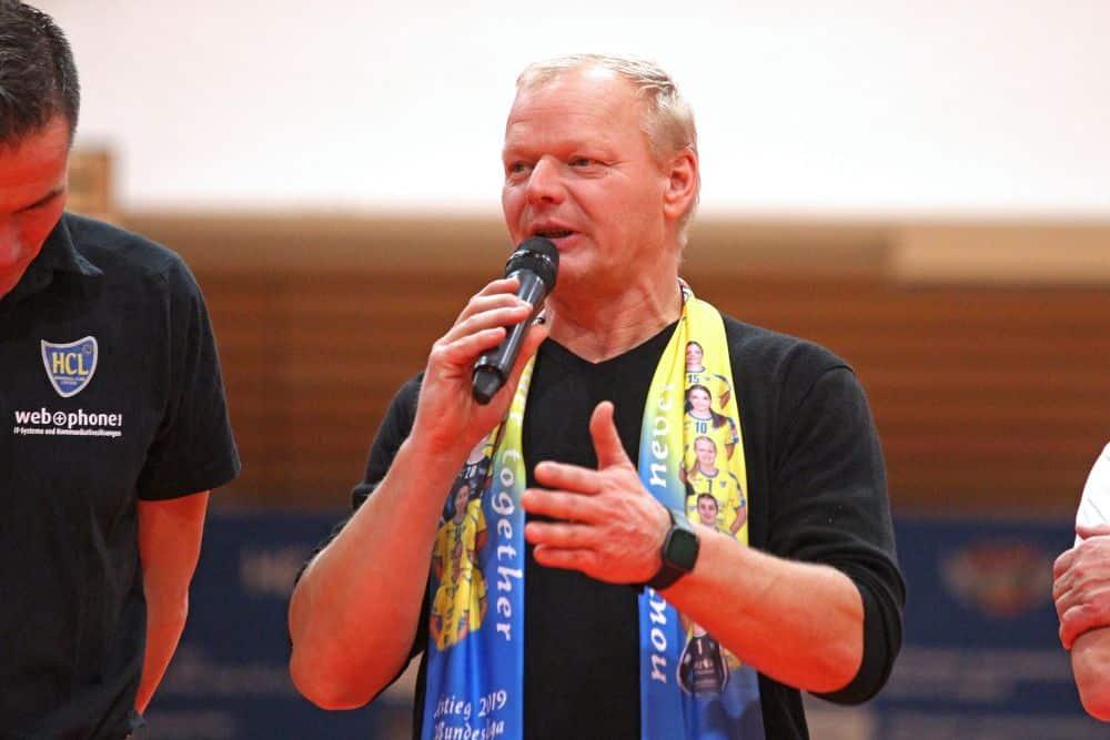HCL-Präsident und Spielerinnen-Vater Thomas Conrad. Foto: Jan Kaefer