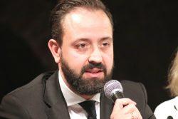 Der OBM-Kandidat Sebastian Gemkow (CDU) im Leipziger Wahlkampf 2020. Foto: Michael Freitag