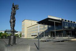 Außenansicht des Sächsischen Landtags. Foto: Steffen Giersch