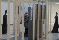 Entwurf Ausstellungsarchitektur: Bauhaus-Universität Weimar. Foto: Werner Schneider