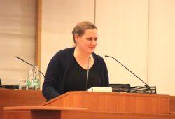 Petra Čagalj Sejdi im Januar 2018 im Leipziger Stadtrat. Foto: L-IZ.de