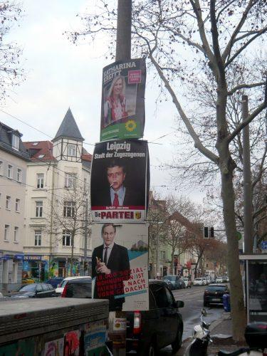 """Stadt der Zugezogenen ... Wahlkampf in der Wachstumsstadt """"neues Berlin"""". Foto: Frank Willberg"""